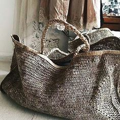51bd4a385 Love these bags from - Beautifully relaxed hand woven raffia XXL beach bag  🌴🌴in rustic toned natural tea colour…