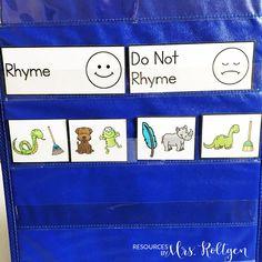 September Literacy Centers for Kindergarten | Resources by Mrs. Roltgen