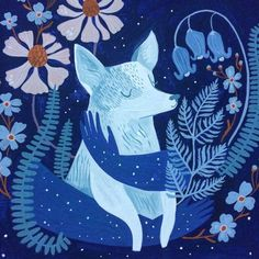 Gorgeous Gouache Imbues Sumptuous Color to Creatures of All Kinds Illustration by Rae Ritchie Art And Illustration, Character Illustration, Illustrations Posters, Animal Illustrations, Illustration Animals, Art Inspiration Drawing, Art Inspo, Gouache, Ghost Dog