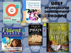 Best Professional Development Reading-  What Will You Read This Summer?