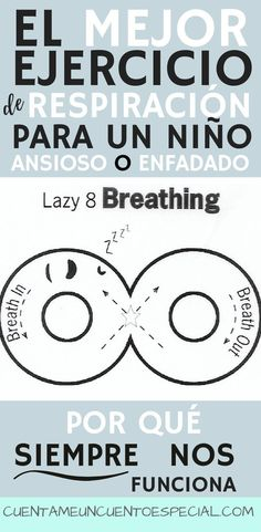 "Calming an anxious or angry kid is never easy, but this simple breathing exercise has been a life saver for us. The lazy 8 breathing technique is part of the Zones of Regulation. It is simple and ""portable"", and there are some reasons why it always works Zones Of Regulation, Emotional Regulation, Self Regulation, Yoga For Kids, Exercise For Kids, Coping Skills, Social Skills, Gentle Parenting, Parenting Hacks"