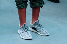 More footwear are unveiled during Kanye West's presentation of Yeezy Season 1 with adidas Originals.