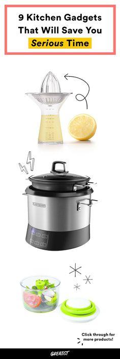Go, go (kitchen) gadget. #greatist http://greatist.com/eat/kitchen-gadgets-that-make-cooking-easier