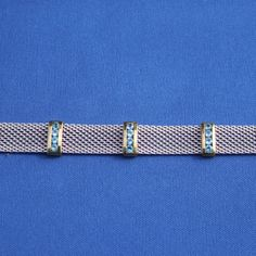 Vintage Blue Topaz and Sterling Silver by LittleSecretsVintage