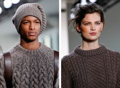 Let's Ogle Fall Knitwear Trends! | http://sheepandstitch.com/fall-knitwear-trends-2014/
