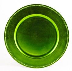 Look what I found on Lime Green Charger Decorative Plates - Set of 24 by Koyal Wholesale  sc 1 st  Pinterest & Charge It by Jay Beaded Charger Plate - BedBathandBeyond.com | Home ...