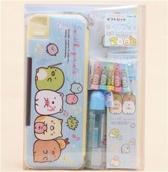cute Sumikkogurashi stationery gift set by San-X 2