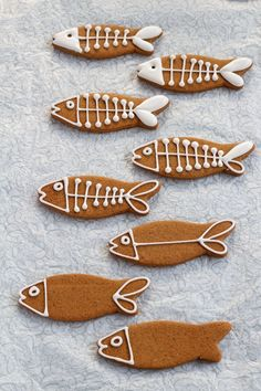 Simple Penguin Cookies with Funny Fish   The Bearfoot Baker
