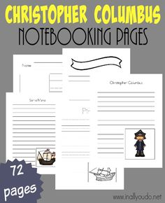 12 besten Homeschool: Columbus Day Bilder auf Pinterest | Christoph ...