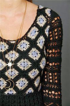 Melhor do Crochê: Vários modelos de vestidos em crochê
