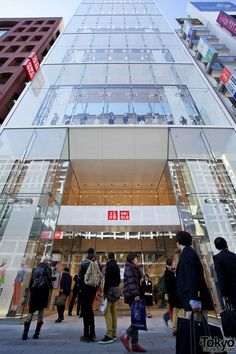 Uniqlo Ginza Megastore Opens In Tokyo – 100+ Pictures