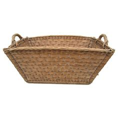 Vintage french basket for EVERYTHING... www.rusticrooster.com