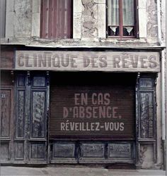 "Find and save images from the ""des reves"" collection by Isalyne on We Heart It, your everyday app to get lost in what you love. City Magazine, Shop Fronts, Clinique, Land Art, Banksy, Belle Photo, Urban Art, Photo Art, Ramen"