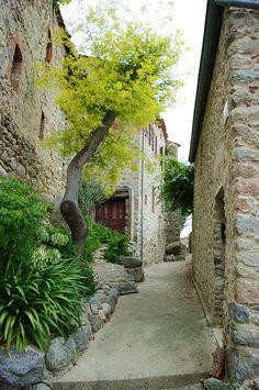 "visitheworld: "" Rue de l'Ancien Courrier, the oldest street in Montpellier, France (by "" Beautiful Places To Visit, Beautiful World, Stone Cottages, Languedoc Roussillon, Barcelona, Visit France, Beaux Villages, Paris Eiffel Tower, Provence France"