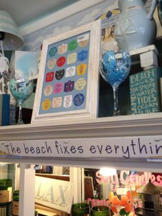 Love this for old beach tags