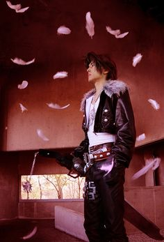 Squall - Final Fantasy VIII cosplay by KANON #Final Fantasy #cosplay
