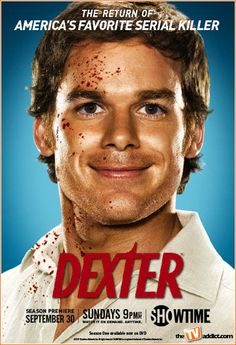 Classic Dexter Poster. Great lighting, even better show!