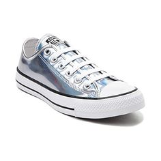 Converse Chuck Taylor All Star Lo (Mens 7/Womens 9, Iridescent Silver)