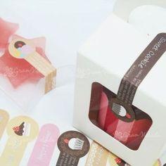 Pegatina Cierre, Sweet Packaging, estas pegatinas son muy originales y creativas y resultan ideales para decorar cajitas, sobres transparentes, celofán, etc. #packaging  #diy
