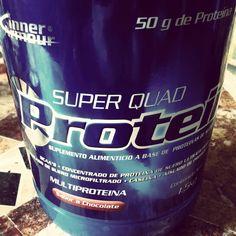 Poder... 25 gr proteína antes y después de entrenar. Buen complemento, lástima de sabor. GYM - Fitness