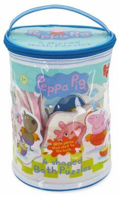 Amazon.com: PEPPA PIG 4 IN 1 BATH PUZZL: Toys & Games