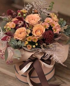 Creative Flower Arrangements, Beautiful Flower Arrangements, Floral Arrangements, Birthday Wishes Flowers, Happy Birthday Flower, Flower Shop Decor, Flower Decorations, Flower Box Gift, Flower Boxes