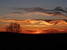 Crazy skies of Nebraska #travel #nebraska #usa