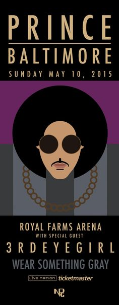 """Prince to Play """"Rally 4 Peace"""" Concert in Baltimore 