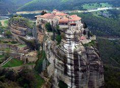 Монастыри Метеоры, Каламбака, Греция
