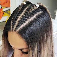 56 Dope Box Braids Hairstyles to Try - Hairstyles Trends Cool Braid Hairstyles, Easy Hairstyles For Long Hair, Baddie Hairstyles, Braids For Long Hair, Hairstyle Ideas, Crazy Hairstyles, Latina Hairstyles, Fashion Hairstyles, Athletic Hairstyles