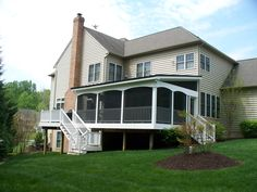 Shed Style Screened Porch