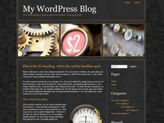 This WordPress template values clean and SEO friendly HTML/CSS code. Built under the Themeatic Theme Framework environment, this 2 column-right WordPress template that can be used on all types of blogs.