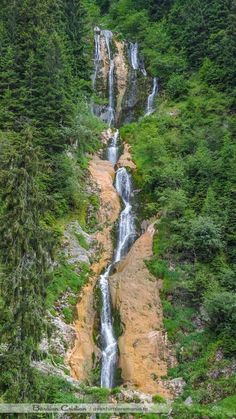 Romania Tourism, Visit Romania, The Beautiful Country, Waterfall, Road Trip, Places To Visit, Country Roads, Clouds, Earth