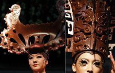 Chocolate Handmade Hats