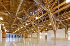 long span wood trusses - Google Search