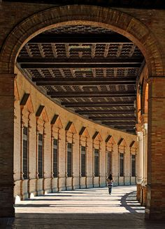 Paseo enmarcado Sevilla   Spain  by Juampiter, via Flickr