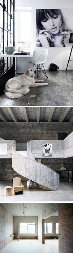 cemento pulido una textura increíble para suelos. #decoración #accesorios armario #armarios