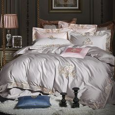 Whispered Luxury Bed Sheets Duvet Cover Set Secrets For sure, all of the quilt covers aren't the exact same as they are available in a great number of. Cheap Bedding Sets, Best Bedding Sets, Bedding Sets Online, Queen Bedding Sets, Luxury Bedding Sets, Comforter Sets, King Comforter, Affordable Bedding, Comforter Cover