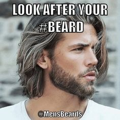 Taking Care of your Beard Look After Yourself, Bearded Men, Gifs, Beard Man