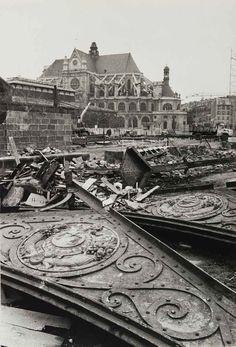 Jean Marquis. Démolition des pavillons Baltard. Paris, Les Halles. 1973 [::SemAp FB    SemAp::]