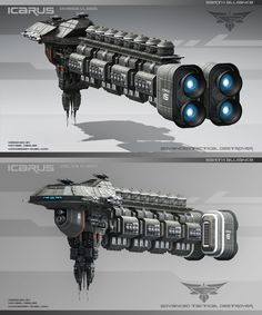 Icarus Delta Class by Palantion