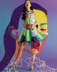 Beautifully creative fashion editorial
