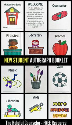 New Student Activity: Autograph Booklet FREE Download