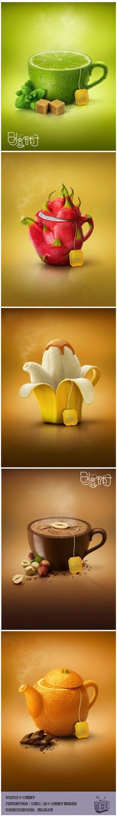 #Print #Ads for flavored tea
