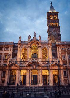 Basilica de Santa Maria la Mayor (Roma - Italy)