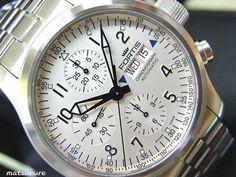 Fortis 新品 FORTISB 42フリーガークロノデイデイト銀635.1012M 時計 Watch Antique ¥173000yen 〆10月14日