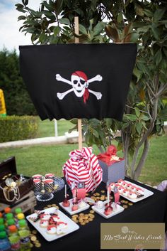 A Pirate and a Princess Party by My Best Wishes Events Pirate Birthday, Pirate Theme, Princess Birthday, Princess Party, Princess Sophia, Party Decoration, 4th Birthday Parties, Birthday Fun, Birthday Ideas