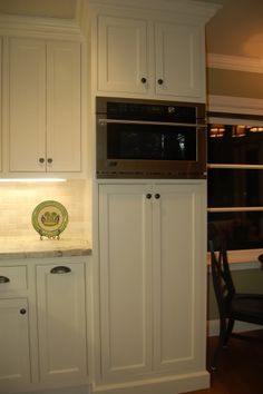 Pantry cabinet + wall oven in one stack? Pics? - Kitchens Forum - GardenWeb