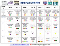 Fixified - Whole30 Meal Plan - Week One