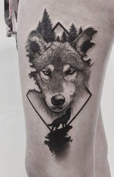 wolf tattoo design Celtic is part of Celtic Wolf Tattoo Designs For Men Knotwork Ink Ideas - inspirational wolf tattoo © Trends Tattoo inspirational Tattoo Trends Wolf Celtic Wolf Tattoo, Wolf Tattoo Back, Small Wolf Tattoo, Wolf Tattoo Sleeve, Sleeve Tattoos, Tattoo Wolf, Wolf Sleeve, Tattoo Maori, Tribal Sleeve